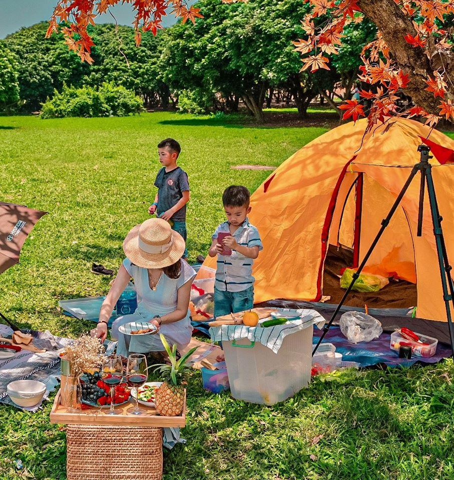 Review Vườn Nhãn - Long Biên địa điểm Picnic quanh Hà Nội