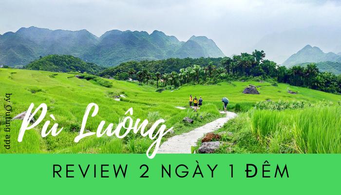 Review Pù Luông 2 ngày 1 đêm