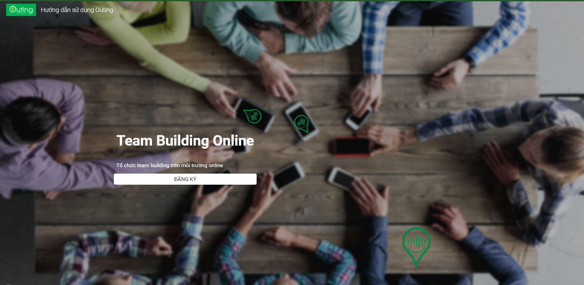 Giải pháp tổ chức team building online