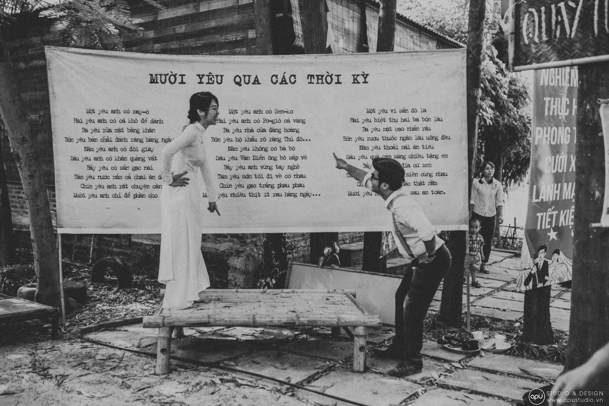 Lễ Thành hôn độc nhất vô nhị theo chủ đề Đại hội Bao cấp