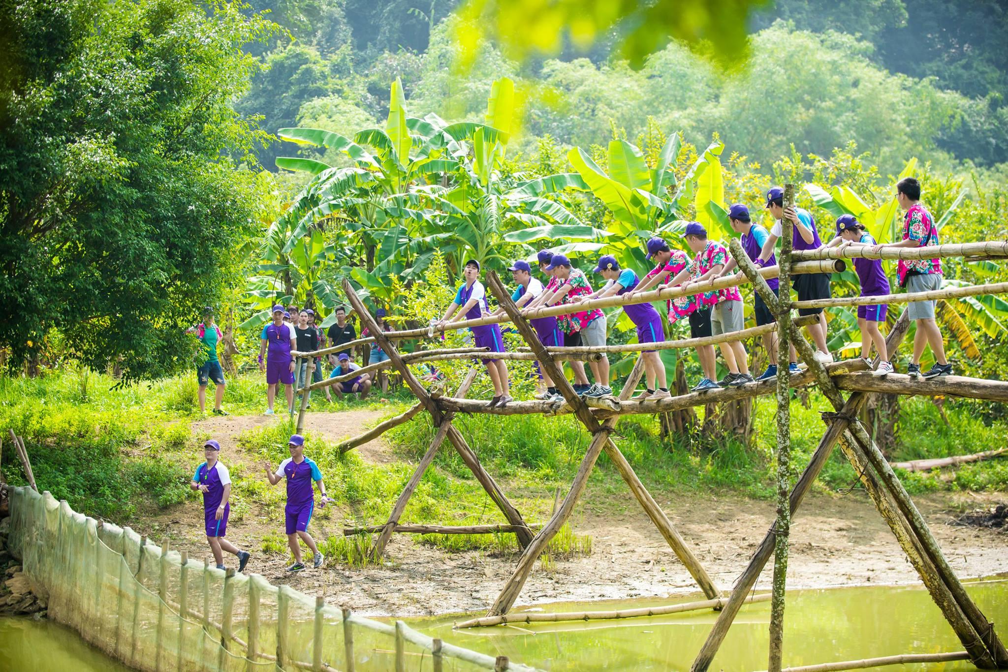 Team building hành trình khám phá Thung Nham - Ninh Bình