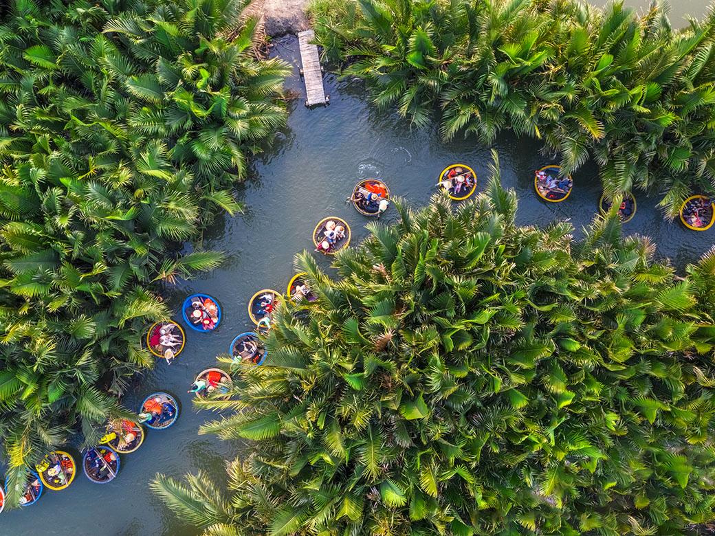 Chương trình Team building hành trình Outing - Rừng Dừa Bảy Mẫu