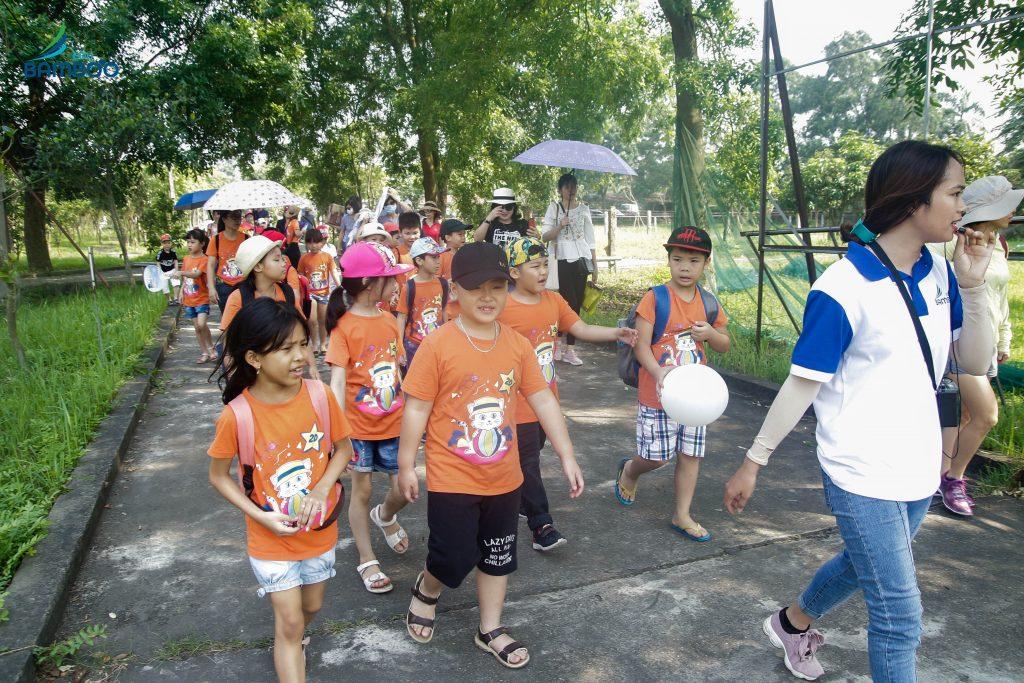 Team building cho trẻ em tại Bamboo