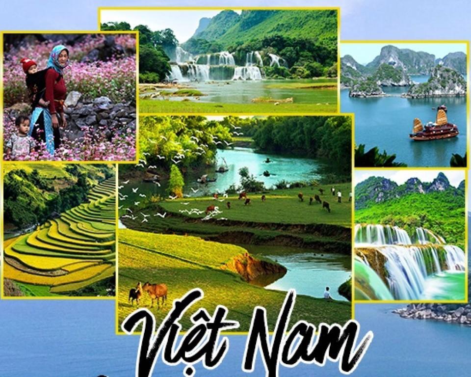 Top 10 địa điểm du lịch nổi tiếng, hấp dẫn nhất Việt Nam 2019